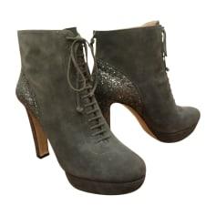 High Heel Ankle Boots Miu Miu