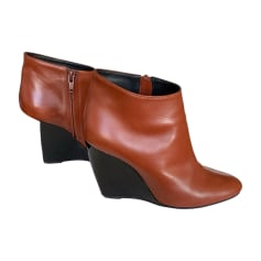 Bottines & low boots à compensés Pierre Hardy  pas cher