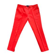 Pantalon droit Victoria Beckham  pas cher
