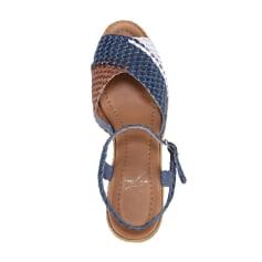 Sandales compensées PIA DI FIORE  pas cher