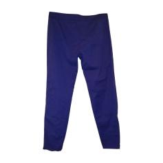 Pantalon droit Alexander McQueen  pas cher