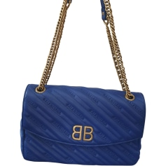 Leather Shoulder Bag Balenciaga BB Chain