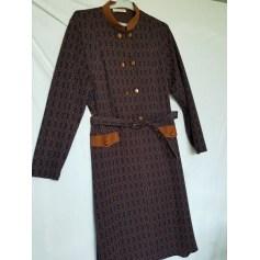Robe mi-longue La Maison Du Jersey  pas cher