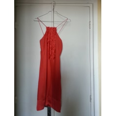 Robe mi-longue Caroll  pas cher