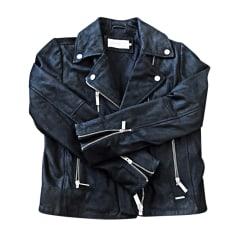 Blouson en cuir Calvin Klein  pas cher