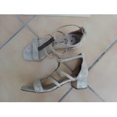 Sandales à talons Carmens  pas cher
