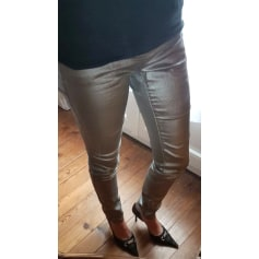 Pantalon slim, cigarette   pas cher