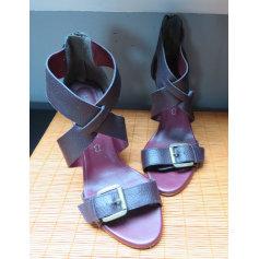 Sandales à talons Naf Naf  pas cher
