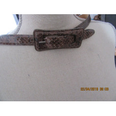 Ceinture fine en python  pas cher
