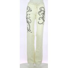Pantalon droit Class Roberto Cavalli  pas cher