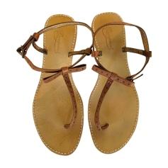 Sandales plates  Bonpoint  pas cher