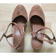 Sandales compensées Affaire de Style  pas cher