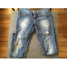 Jeans slim Topshop  pas cher