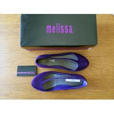 Ballerines Melissa  pas cher