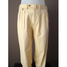 Pantalon large Façonnable  pas cher