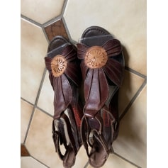 Sandales compensées Pikolinos  pas cher