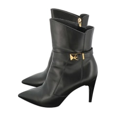 Bottines & low boots à talons Louis Vuitton  pas cher