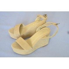 Sandales compensées Jonak  pas cher