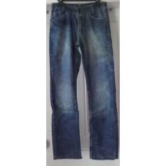 Jeans large Gémo  pas cher