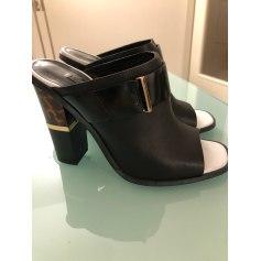 Escarpins à bouts ouverts Office Shoes London  pas cher