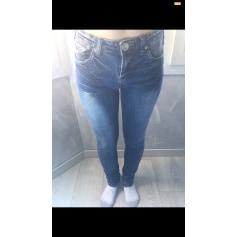 Jeans slim Sismix  pas cher