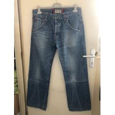 Jeans large Tommy Hilfiger  pas cher
