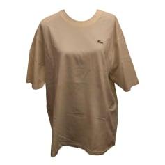 Tee-shirt Lacoste  pas cher