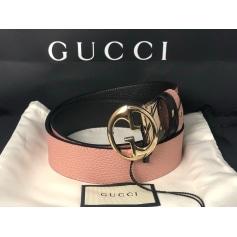 Ceinture large Gucci  pas cher