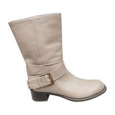 Bottines & low boots motards Chloé  pas cher