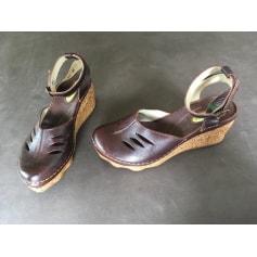 Sandales compensées El Naturalista  pas cher