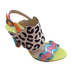 Sandales à talons SOPHIA WEBSTER  pas cher