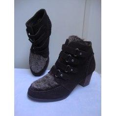 Bottines & low boots à talons Promod  pas cher