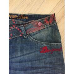 Jupe en jean Desigual  pas cher