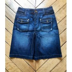 Jupe en jean Used Jeans  pas cher