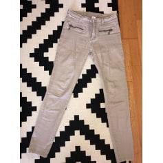 Pantalon droit Vila  pas cher