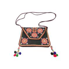 Sac en bandoulière en cuir Antik Batik  pas cher