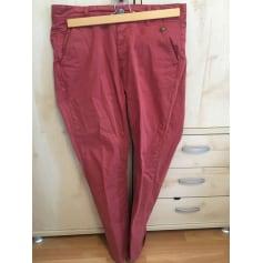 Pantalon droit Izac  pas cher