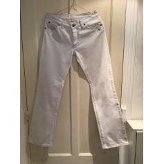 Jeans droit Thomas Burberry  pas cher