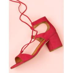 Sandales à talons NEW LOVERS  pas cher