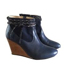 Bottines & low boots à compensés Petite Mendigote  pas cher
