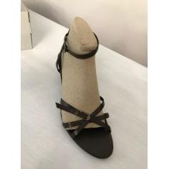 Sandales à talons Agnès Flo  pas cher