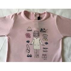 Top, T-shirt Lili Gaufrette