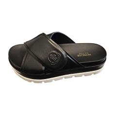 Sandales plates  Moncler  pas cher