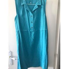 Robe mi-longue Zyga Lin'n Laundry  pas cher