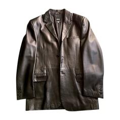 Leather Coat Versus Versace