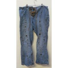 Jeans très evasé, patte d'éléphant Venezia  pas cher