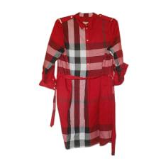 Robe tunique Burberry  pas cher