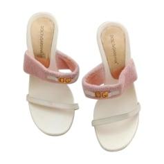 Mules Dolce & Gabbana  pas cher