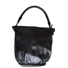 Lederhandtasche Maje