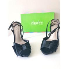 Sandales à talons Charles David  pas cher